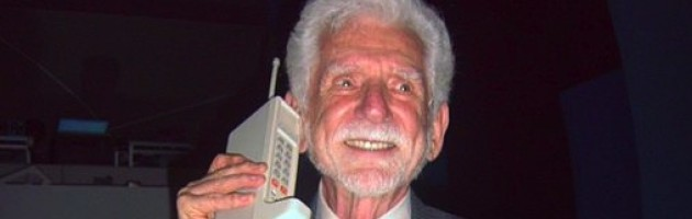 Martin Cooper, the inventor of the cell phone